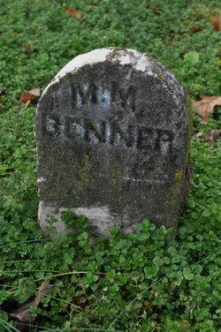 Mrs Mary Ann <I>Mills</I> Benner