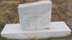 Ruth <I>Jennings</I> Conyers
