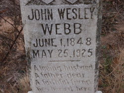 John Wesley Webb, Sr