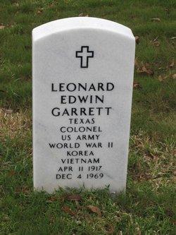 Leonard Edwin Garrett