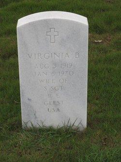 Virginia B <I>Osburn</I> Geest