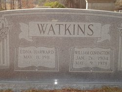 Edna Mayfield <I>Harward</I> Watkins