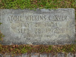 Addie Mae <I>Wilkins</I> Carver
