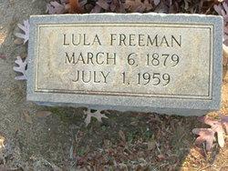 Lula Elizabeth <I>Devinney</I> Freeman
