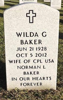 Mrs Wilda Grace Baker