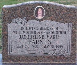 Jacqueline Marie <I>Slaughter</I> Barnes