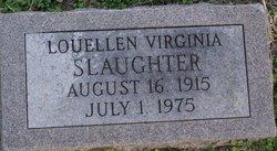 Lou Ellen Virginia Slaughter