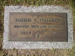 Rozene C Stallings