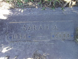 "Sarah Ann ""Sally"" Zack"