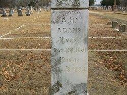Asbury Harris Adams