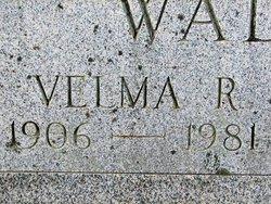 Velma R <I>May</I> Walker