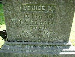 Louise M <I>Eighmey</I> Shipman