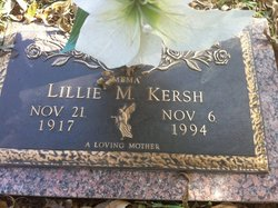Lillie M Kersh