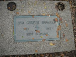 Eva May <I>Chisum</I> Howard