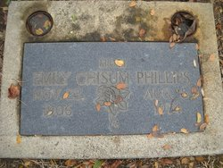 Emily <I>Chisum</I> Phillips