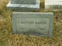 F. Wayland Warlow