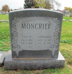Annabelle Rose Violet <I>Stange</I> Moncrief