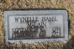 Wynelle <I>Hamil</I> McLain