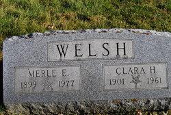 Merle E Welsh