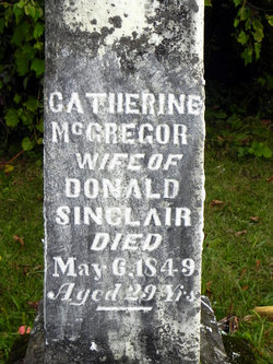 Catherine <I>McGregor</I> Sinclair