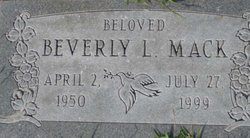 Beverly L Mack