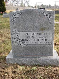 Bonnie L <I>Schaeffer</I> Wolfe