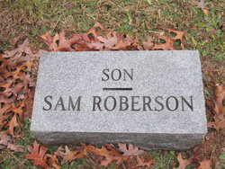 "Samuel Houston ""Sam"" Roberson"