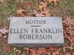 Mary Ellen <I>Franklin</I> Roberson
