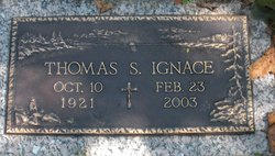 Thomas S Ignace