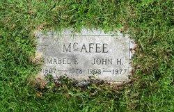 Mabel F. McAfee