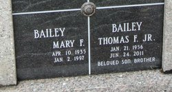 Thomas F. Bailey, Jr