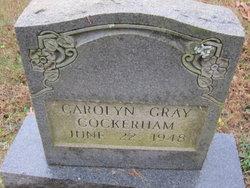 Carolyn Gray Cockerham