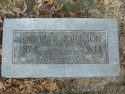 Harry Fred Johnson