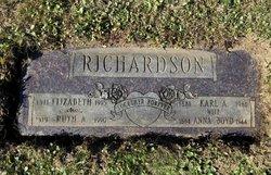 Anna Clara <I>Boyd</I> Richardson