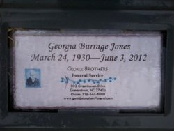 Georgia <I>Burrage</I> Jones