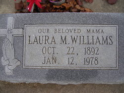 Laura M Williams