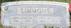 Lona <I>Nelson</I> Simmons