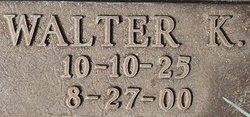 "Walter K ""Buster"" Gafford"