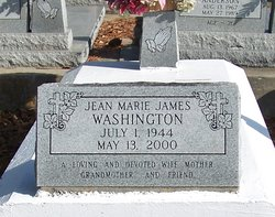 Jean Marie <I>James</I> Washington