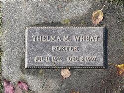 Thelma Marguerite <I>Wheat</I> Porter