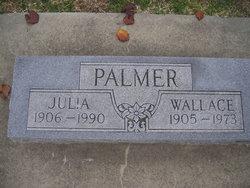 Julia <I>Aaron</I> Palmer