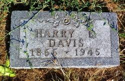 "Harrison E ""Harry"" Davis"