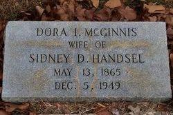 Dora Isabell <I>McGinnis</I> Handsel