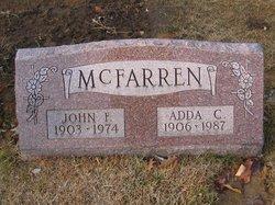 Adda C McFarren