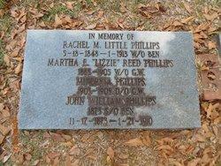 "Martha E. ""Lizzie"" <I>Reed</I> Phillips"