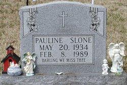 Pauline <I>Sweeney</I> Slone