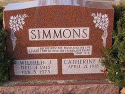Wilfred J Simmons