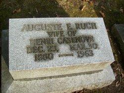 Auguste E. <I>Ruch</I> Casenove