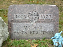 Margaret A. <I>Fricks</I> Stroh