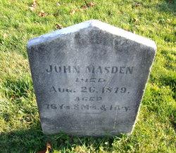 John Masden, Jr